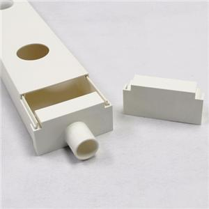 China High Quality 100x50mm Pvc Gutter Nft Hydroponics