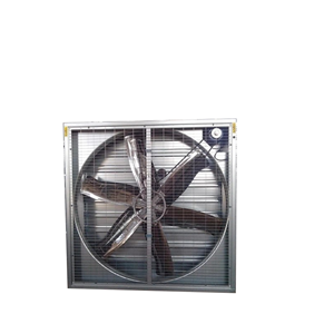 Hydroponic poultry farm exhaust fan for agricultural