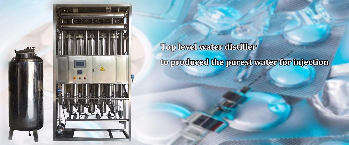 WFI Multiple Effect Water Distiller