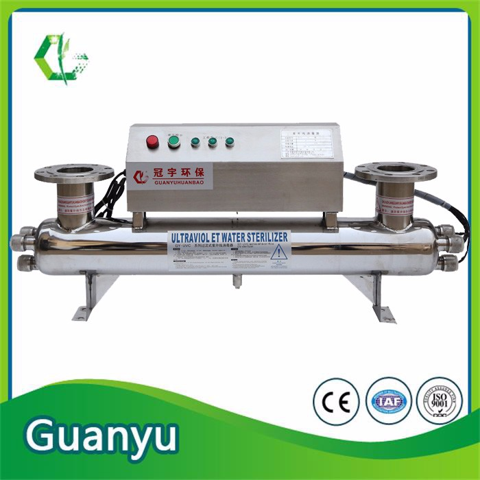 Stainless Steel 316 UV Sterilizer For Fresh Water