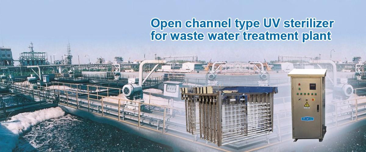 Open Channel Type UV Sterilizer