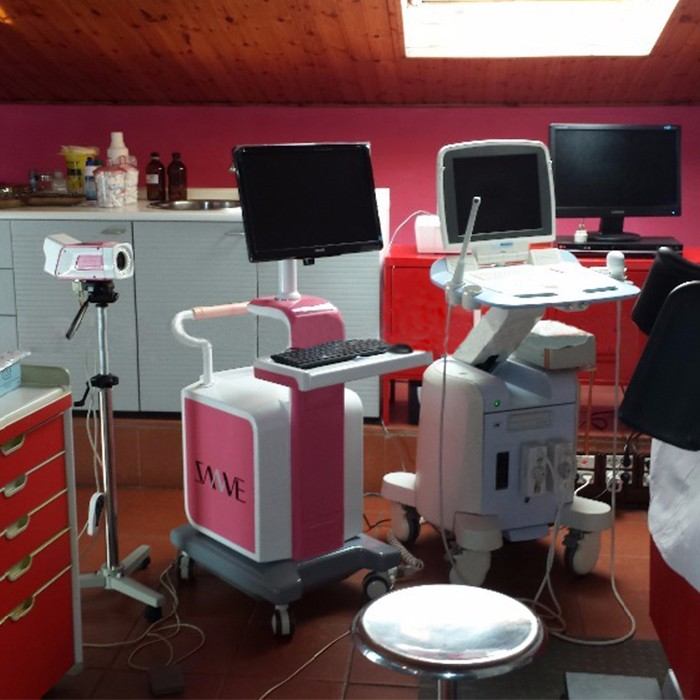 Colposcope installed in Italy