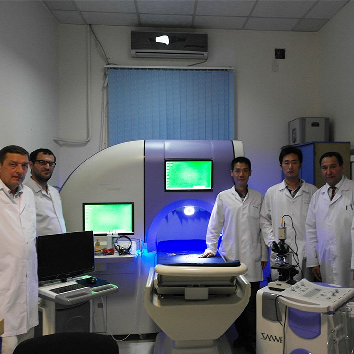 Andrology workstation installed and trained in Azerbaijan