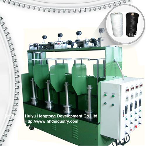 High speed nylon zipper core twisting machine .jpg