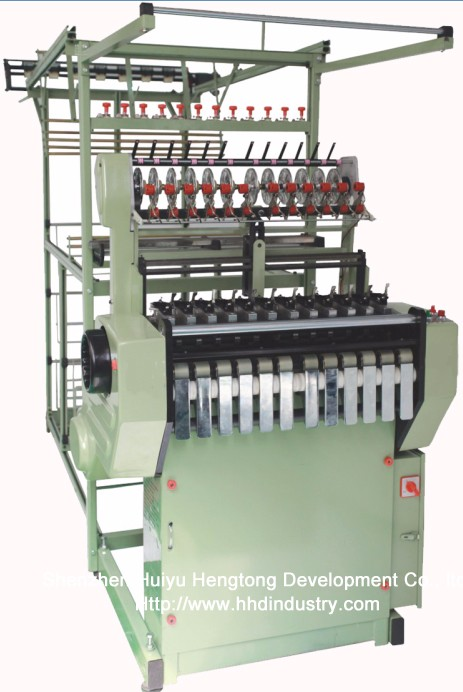 High Speed Nylon Zipper Tape Weaving Machine