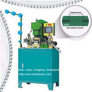 Auto Nylon Zipper CNC Gapping Machine