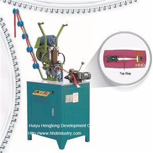 Auto Nylon Zipper Top Stop Fixing Machine
