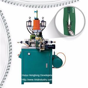 Auto Nylon U Type Top Stop Zipper Machine