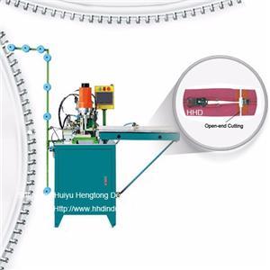 Auto Nylon Zipper Ultrasonic Open End Cutting Machine