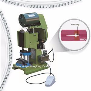 Semi Auto Nylon Zipper Pin Pressing Machine
