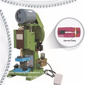 Semi Auto Nylon Zipper Open End Cutting Machine