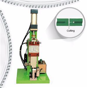 Semi Auto Nylon Zipper Lace Cutting Machine