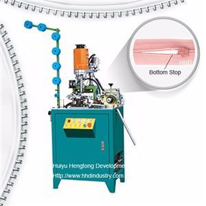 Auto Invisible Zipper Zig Zag Cutting Machine