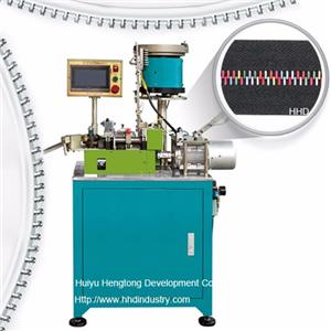 High Speed Colour Partical Zipper Teeth Planting Machine