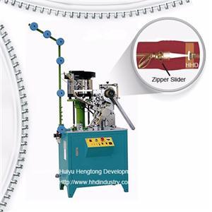 Auto Metal Zipper Slider Inserting Machine