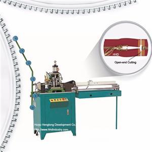 Auto Metal Zipper Open End Cutting Machine