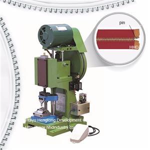 Semi Atuo Metal Zipper Pin Fixing Machine