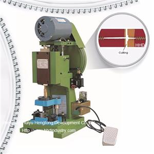 Semi Atuo Metal Zipper Punching And Cutting Machine