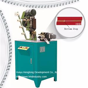 Auto Metal Zipper Bottom Stop Machine