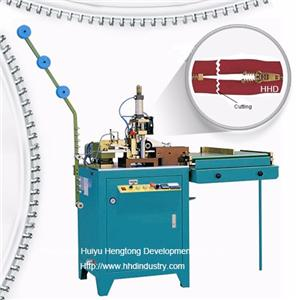 Auto Metal Zipper Lace Cutting Machine