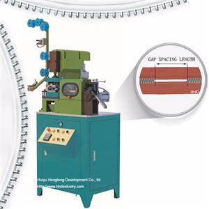 Auto Plastic Zipper Gapping And Striping Machine