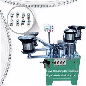 Auto-lock Zipper Slider Assembly Machine