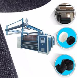 Velcro Tape Brushing Machine
