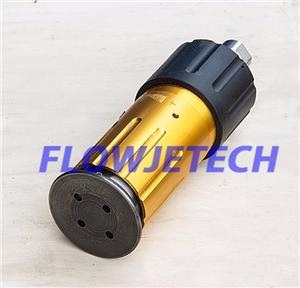 Self Rotating Water Blasting Nozzle