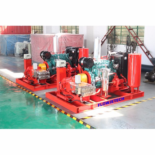 20kpsi Surface Pretreatment Hydro Blasting Machine