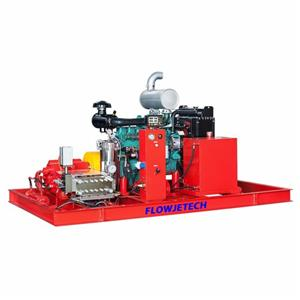 40kpsi Ship Hull Hydro Blasting Machine