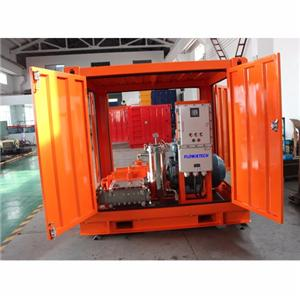 Electric Driven Hydro Blasting Machine