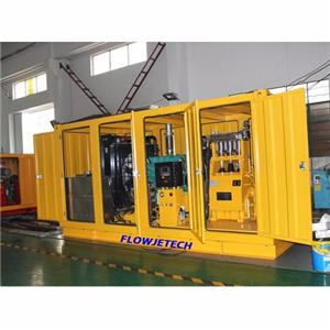 High Efficiency Hydro Blasting Machine
