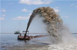 Sand Pumping Vessel