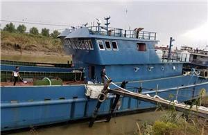 Semi-submerged Ship