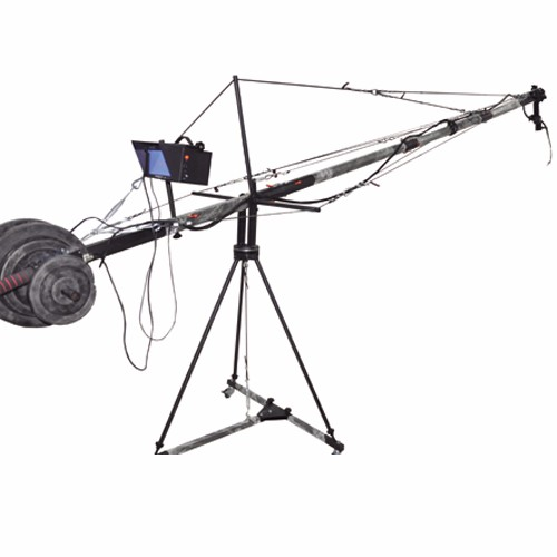 5m electronic camera crane