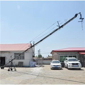 long jimmy jib video camera crane