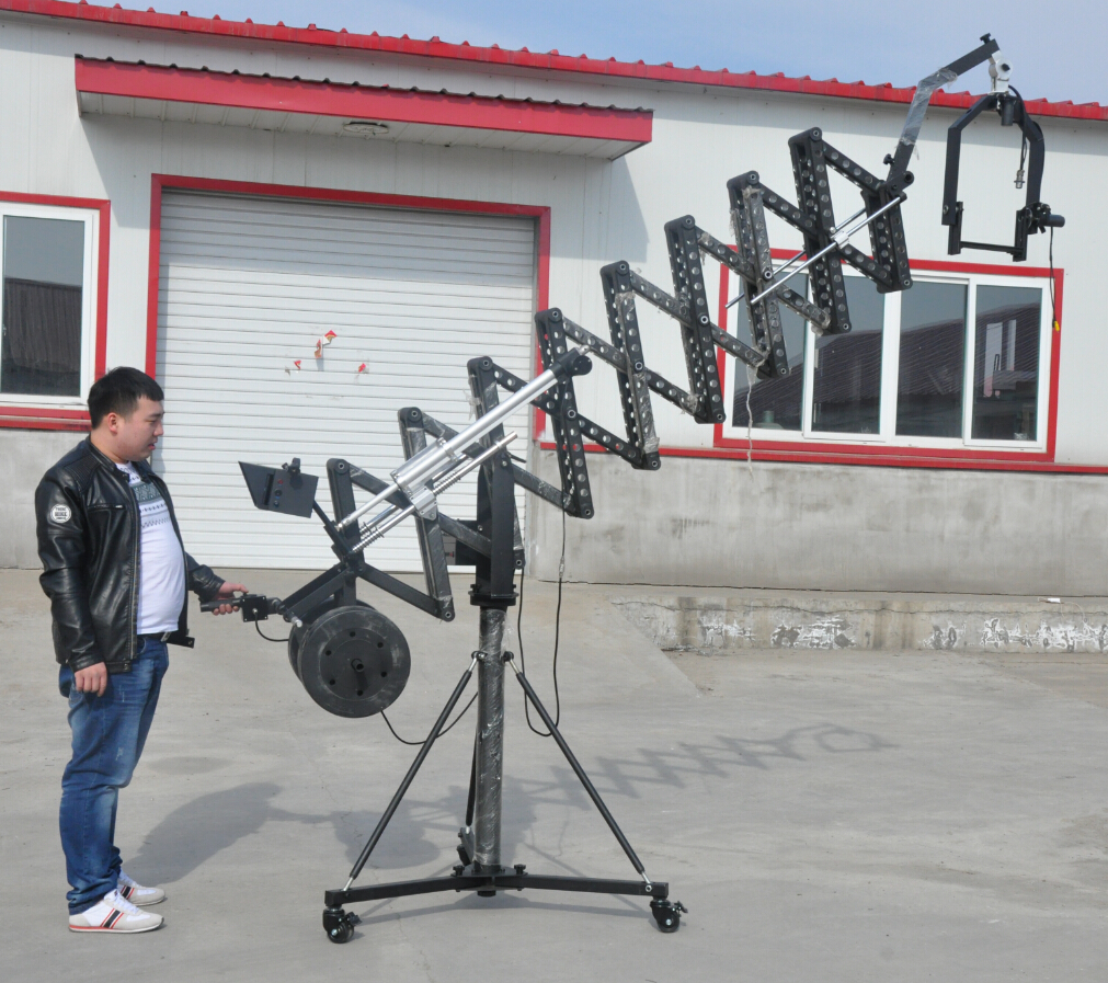 5.5m electric telescopic camera jib crane,Camera Crane Quotes Factory,Camera Crane Wholesale Quote