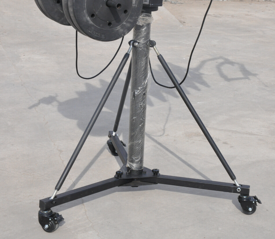 5.5m telescopic camera jib crane,Camera Crane Wholesale Quote,High Video Jib Crane Quote