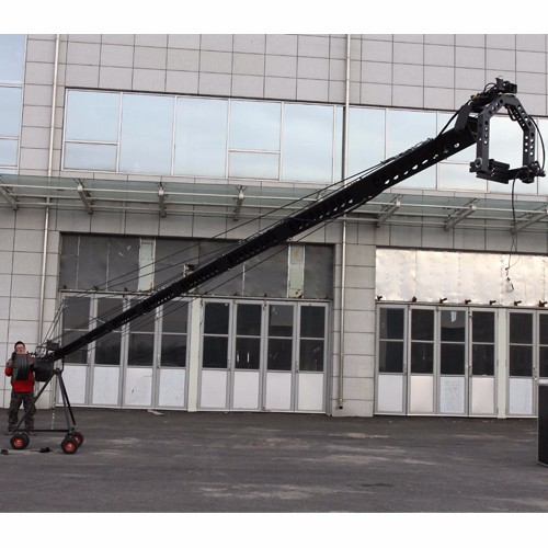 universal electronic control jimmy jib camera crane