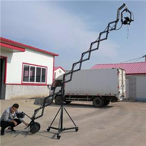 electric telescopic jimmy jib crane