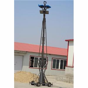 4m GFM manned jimmy jib video camera jib crane Factory sale