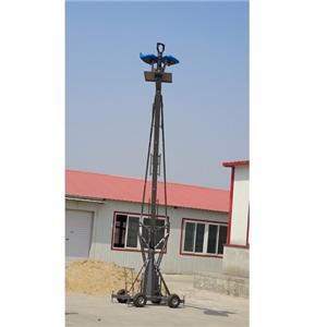 12m GFM IDEAL 12m manned jimmy jib video camera lift jib crane elevating for sale