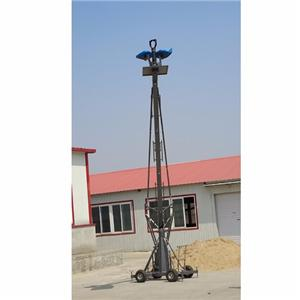 Professional lifting manned camera crane