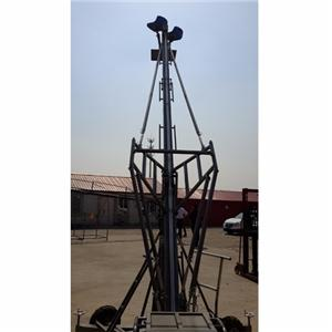 IDEAL 8m manned jimmy jib video camera lift jib crane elevating for sale