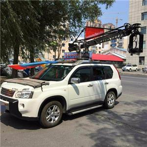 6m Camera Crane Installed on Cars With Stabilized Head
