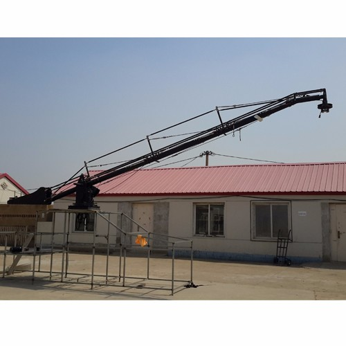 on-board video camera jib crane