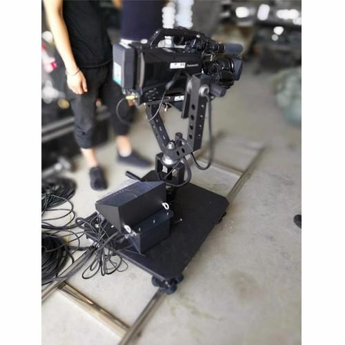 Electric Film Making Dolly Base with Dutch Head Camera Crane