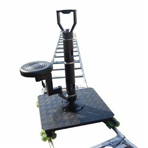 16 wheels With seat video shooting moving track dolly