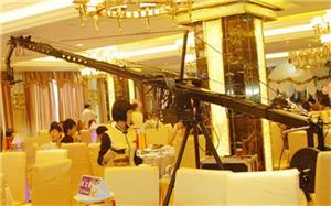 Wedding camera crane photography skills using rocker photography