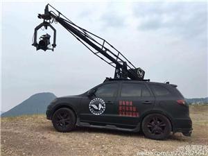 Lens application using the camera crane